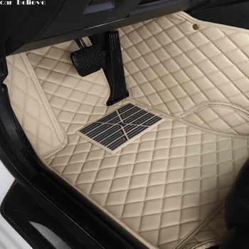 Car Believe Auto car floor Foot mat For nissan qashqai j10 x-trail t31 murano patrol y61 tiida teana waterproof car accessories - DISCOUNT ITEM  50% OFF All Category