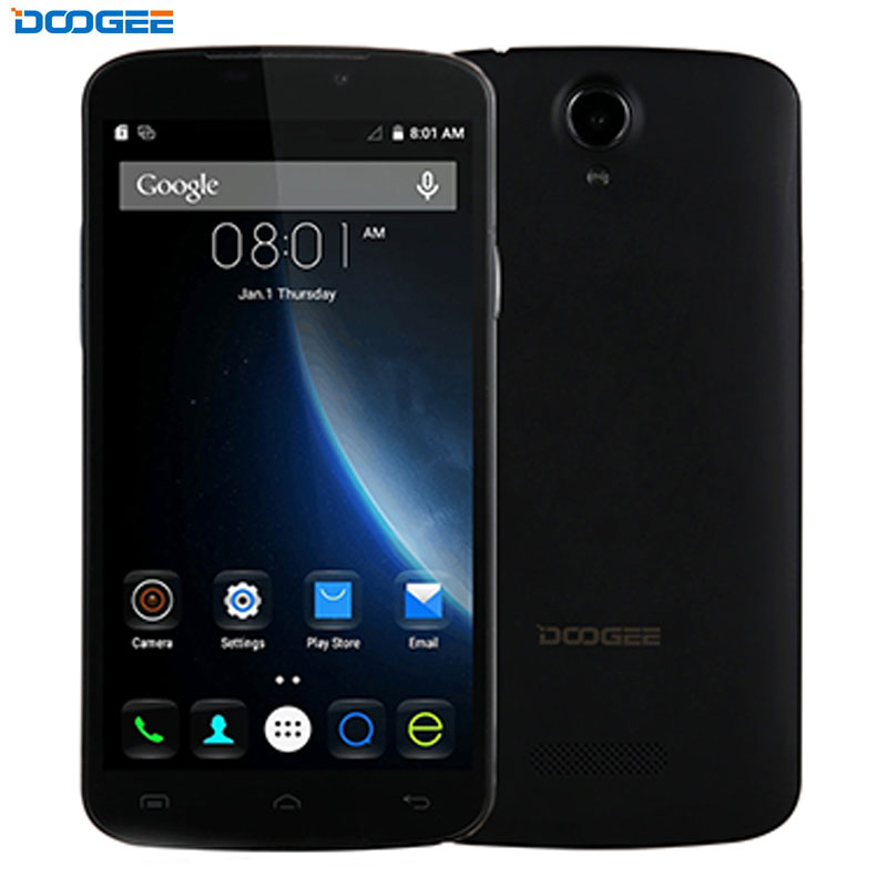 3G Original Smartphone DOOGEE X6 1GB 8GB 5 5 inch Android 6 0 MTK6580 Quad Core