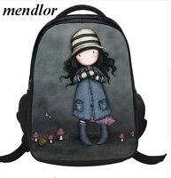 2017 New School Bag Cute Backpack Girl Nylon Student Bag Mochilas Escolares Infantis Children School Bags