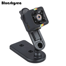Blueskysea SQ11 Video Recorder 1080P HD DVR Sports Action Cam Camcorder For FPV Black Motion Detection