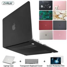 Novo Caso de Laptop Para Apple MacBook Air Pro Retina 11 12 13 15 para mac book Pro 13.3 15.4 polegada com Barra de Toque + Tampa Do Teclado(China)