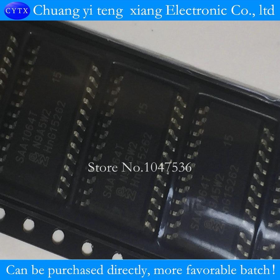 SAA1064T SAA1064 SOP24 5PCS/LOT 4-digit LED-driver with I2C-Bus interface -  us717