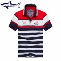 Nieuwe Merk Camisa Masculina Mens Polo Kleding Zomer Tace Shark Mannen korte shirt katoen Casual Beroemde Merk Business Polo Shirts