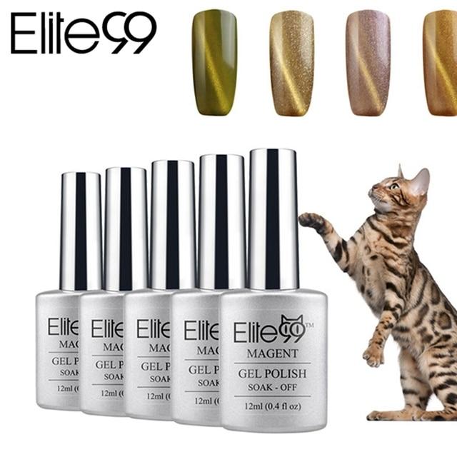 Elite99 UV LED de barniz de laca Gel 3D ojos de gato esmalte de uñas ...
