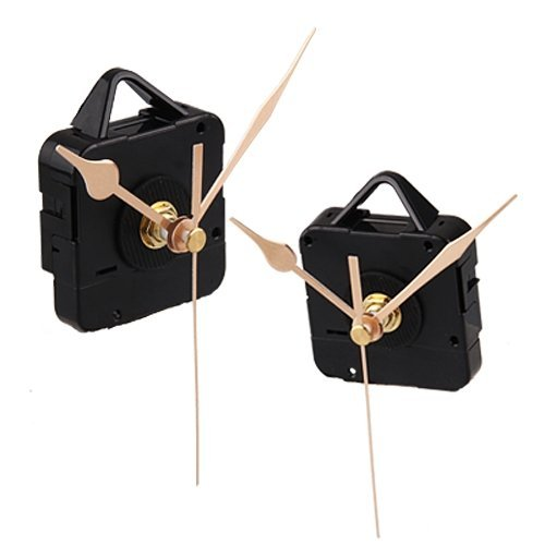 PHFU Quartz Clock Movement Mechanism Gold Hands DIY Repair Parts Kit