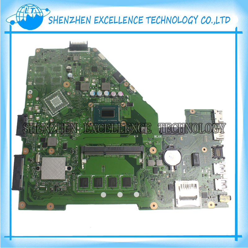 For Asus X550CA Laptop Motherboard Mainboard X550CC rev 2.0 i7-3537u 4GB RAM fully 100% tested ok+60warranty days  for asus ux31a laptop motherboard ux31a2 rev4 1 2 0 mainboard with intel core i7 3537u 4gb fully tested 60 days warranty