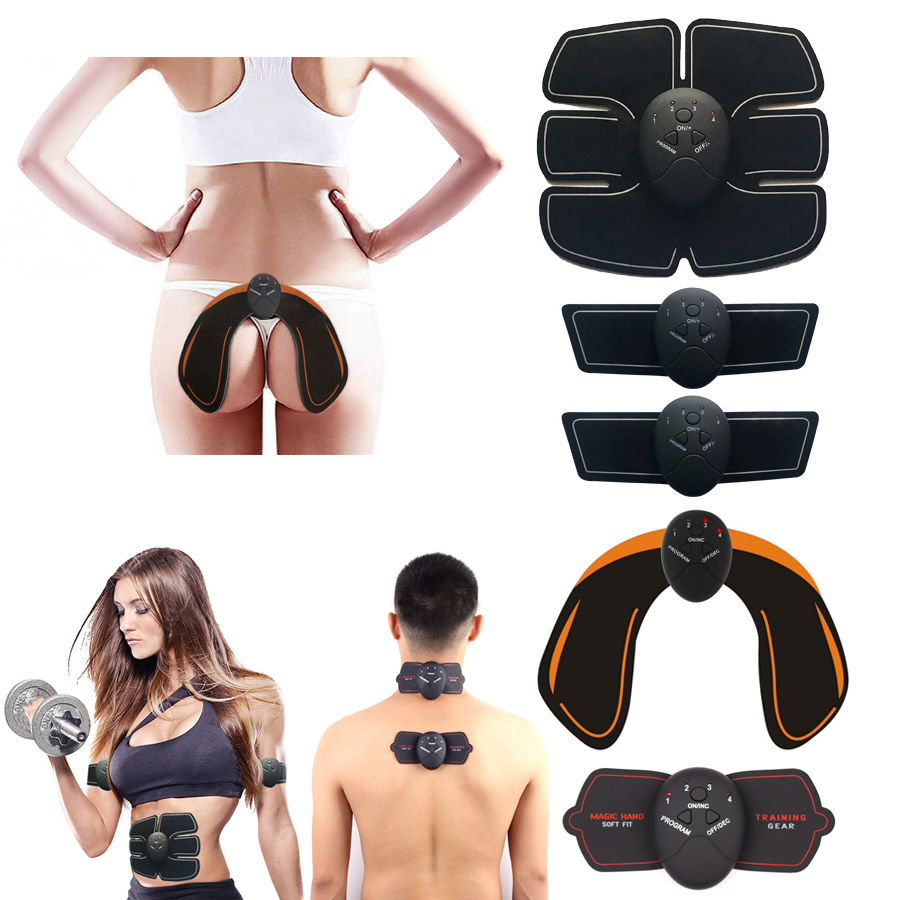 Abdominal Muscle Hip Trainer Stimulator slimming machine Vibrating Fitness Massage Exercise Workout Equipment virbo platform