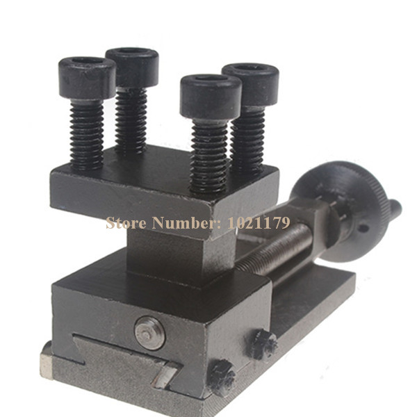Free Shipping Sieg C0 Rotatable Lathe Tool Holder S/N: 10154 Sieg Mini Lathe Accessories Lathe Tool holder small metal lathe turret mini diy small homemade mini sieg s n c2 112 lathe turret toolholder