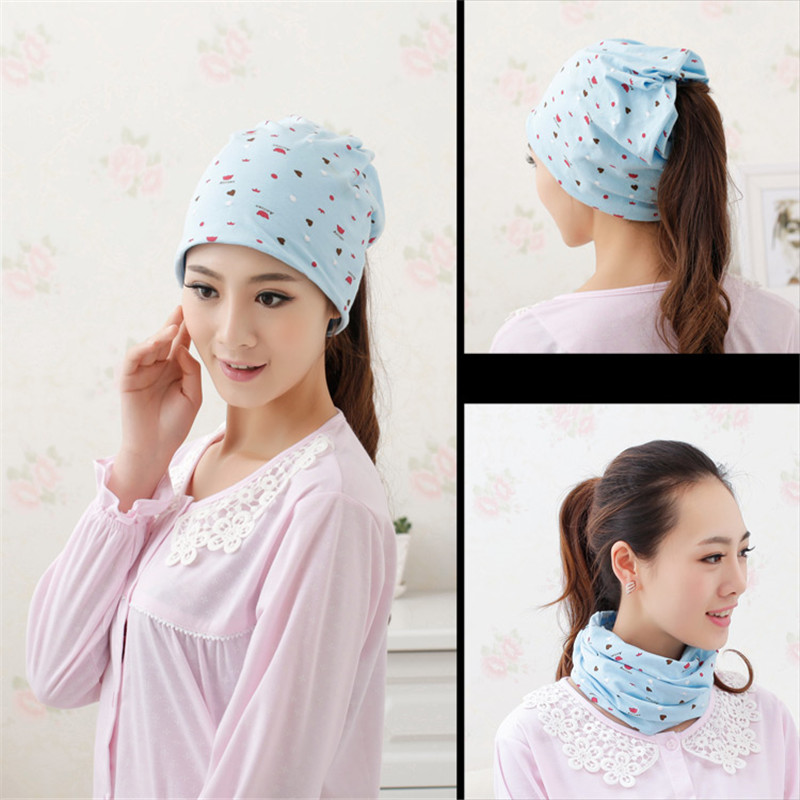 Pregnant woman cap Mommy bow head on the head against the head wind Cap for girl hat Women's hats women's winter