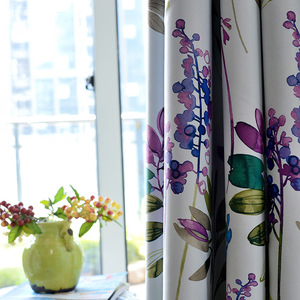 American Style Purple Floral B