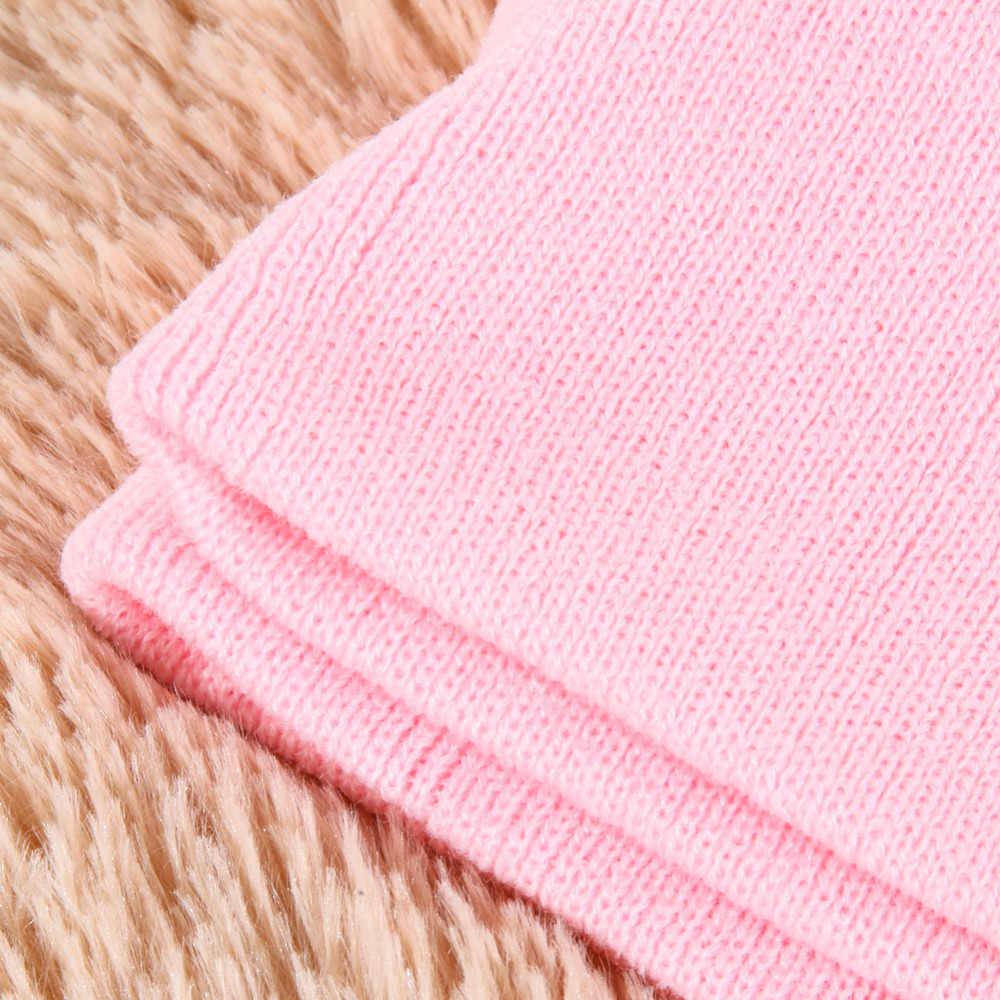 Dziecko kapelusz + zestaw szalików zima wiosna jesień czapka z dzieci zabezpieczenia w kolorze cukierków czapka szalik czerwony/żółty/ niebieski/różowy/zielony/niebieski niebo