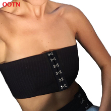 Fashion Black Tube Tops