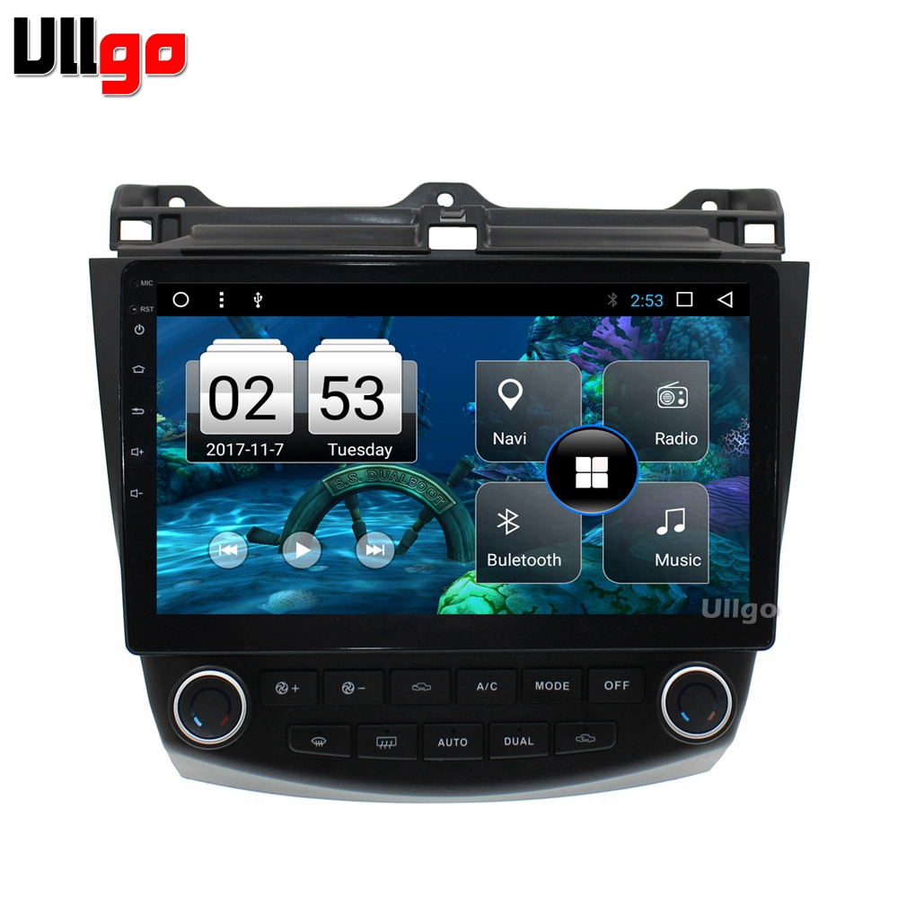 10.1 inch Octa Core Android 8.1 Car DVD GPS for <font><b>Honda</b></font> <font><b>Accord</b></font> <font><b>2003</b></font>-2007 Car <font><b>Stereo</b></font> Autoradio GPS with BT RDS WIFI Mirror-link image