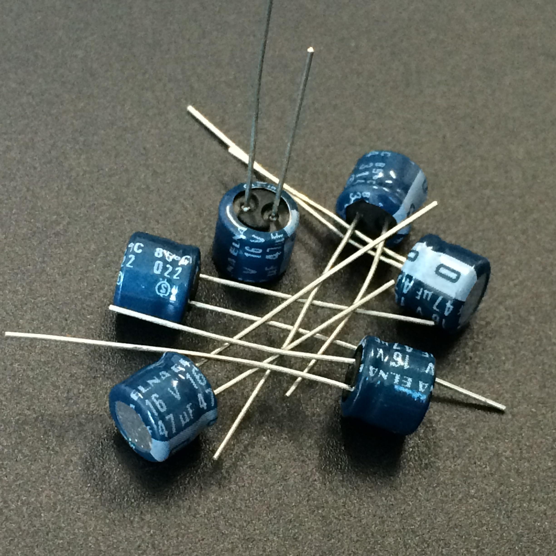 10pcs 33uf 16v Axial Electrolytic Capacitors 16v33uf for Audio panasonic JAPAN