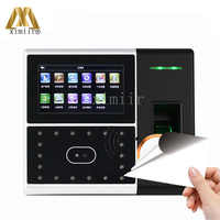 High-Tech Office With Facial Fingerprint Access Control Time Attendance System TCP/IP GPRS And Camera Free Shipping