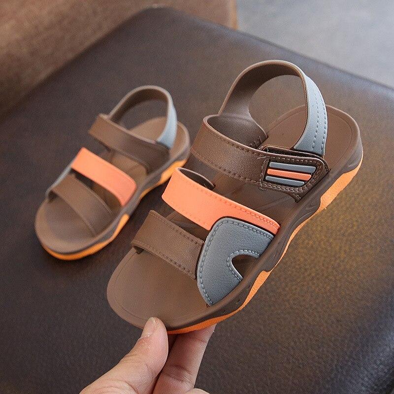 Sandals Beach-Shoes Girls Boys Fashion Children's High-Quality Anti-Slippery Summer Soft-Sole