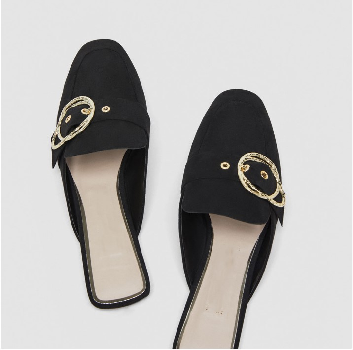 Newest brand Mueller shoes summer flats slippers women round toe casual shoes crystal decor flip flops women 2018 women slides