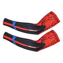 Cycling Arm Sleeve UV Sun Protection Sports Sleeves Basketball Running Fishing Cycling Cuff Arm Warmers Volleyball Arm Sleeves недорого