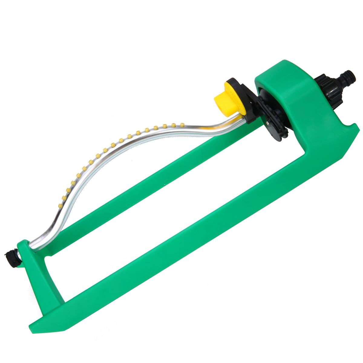 Image 2 - 18Jets Oscillating Lawn Water Sprinkler Watering Garden Pipe Hose Water Flow-in Garden Sprinklers from Home & Garden