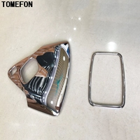 TOMEFON 2pcs For Toyota C HR CHR 2016 2017 ABS Chrome Front And Rear Roof Reading