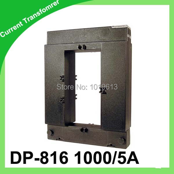 DP current transformer open-core ct window type current transformer DP-816 1000/5 class:0.5 5VA ct dp88 750 5a class 0 5 high accuracy split core current transformer open type current transformers factory quality guarantee
