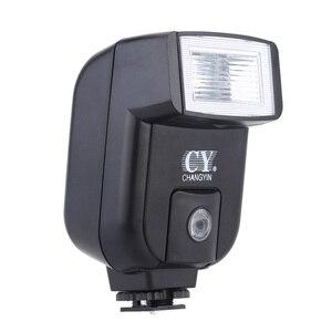 Image 3 - Yinyan CY 20 Giày Nóng Đồng Bộ Cổng 5600K Mini Đa Năng Đèn Flash Cho Máy Ảnh Nikon Canon Olympus Pentax Sony Alpha Máy Ảnh