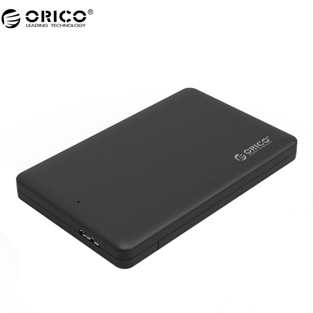 ORICO Hard Disk Box Enclosure 2.5 USB 3.0 SATA HDD Box HDD Hard Disk Drive External HDD Enclosure Black Case