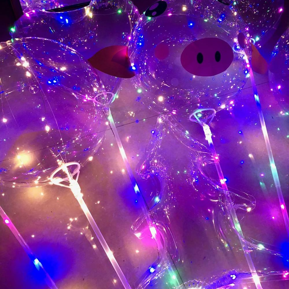 Image 4 - 10/20pcs 20Inch globos Led Balloon helium to inflate balloons wedding birthday party decorations helium balloon ballon mariage-in Ballons & Accessories from Home & Garden