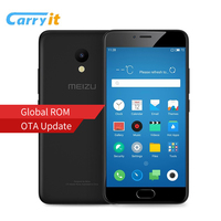 Original Meizu M5 16GB 2GB Global Firmware OTA Mobile Phone MTK MT6750 Octa Core 5.2