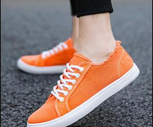 Image 4 - Canvas shoes, boys, white shoes, breathable sports, casual mens shoes