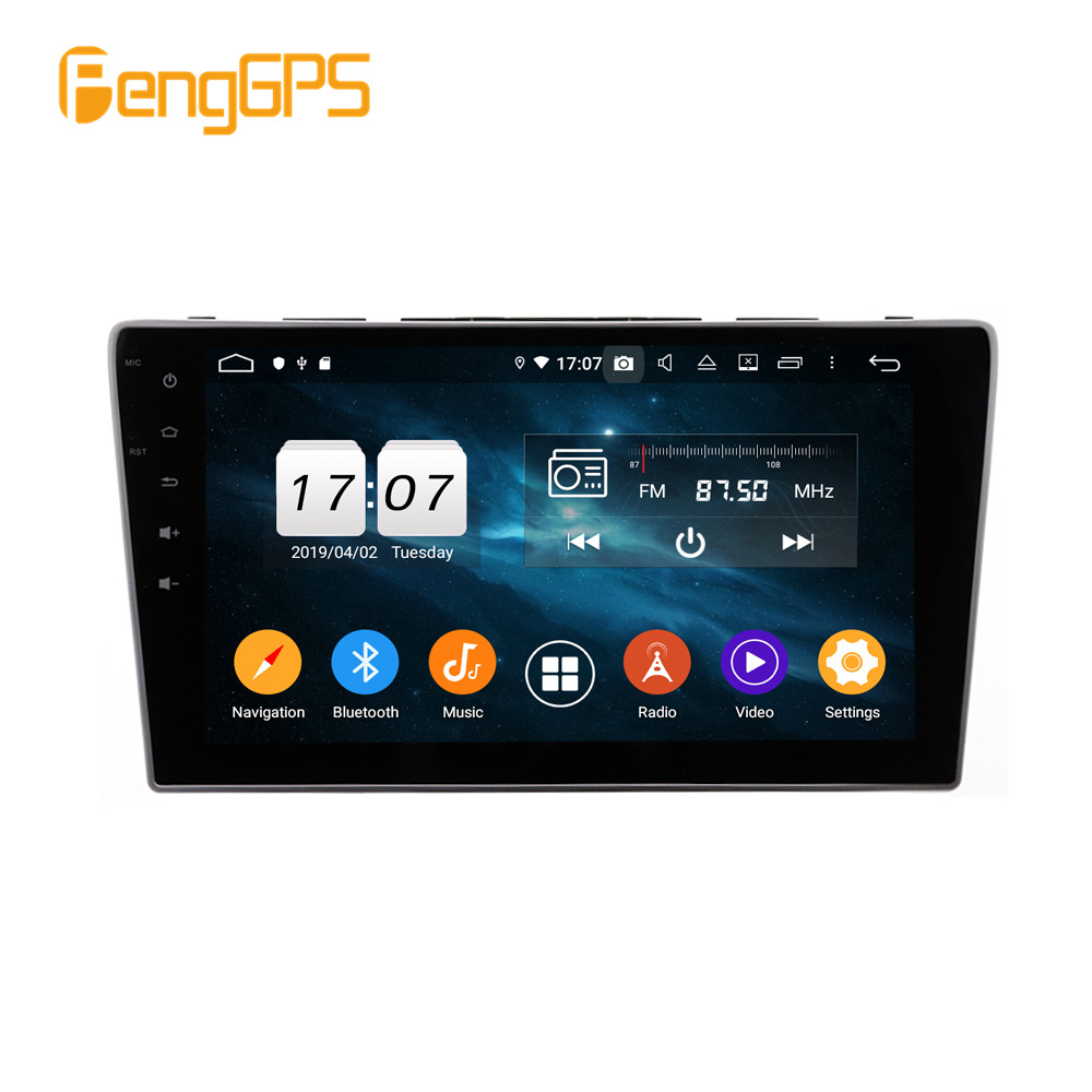 2 din 4+64G Android9 Car dvd player <font><b>GPS</b></font> Navi For <font><b>Honda</b></font> <font><b>CRV</b></font> 2006 <font><b>2007</b></font> 2008 2009 2010 2011 2012 multimedia radio tape recorder image