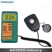 Solar Power Meter With1.5M Remover Sensor com 3 1/2 Dígitos Lcd com Leitura Máxima de 2000 TENMARS TM 207 sensor re sensor sensor sensor solar -