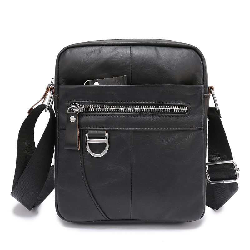 2018 Genuine Leather Men Messenger Bags Travel Casual Crossbody Bag Business Mens Shoulder Bags Brand Men Cow Leather Small Bag