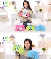 Candice guo plush toy stuffed boneca Monstro dos desenhos animados Universidade minha melody menina tampa da caixa de tecido de toalha de papel presente de aniversário do miúdo 1 pc
