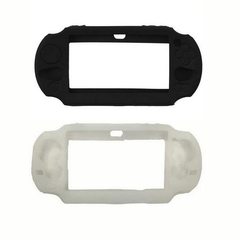 TPU Silicone gel Soft Protective Cover Shell for <font><b>Sony</b></font> PlayStation Psvita <font><b>PS</b></font> <font><b>Vita</b></font> PSV 1000 2000 Slim <font><b>Console</b></font> Protector Skin Case image