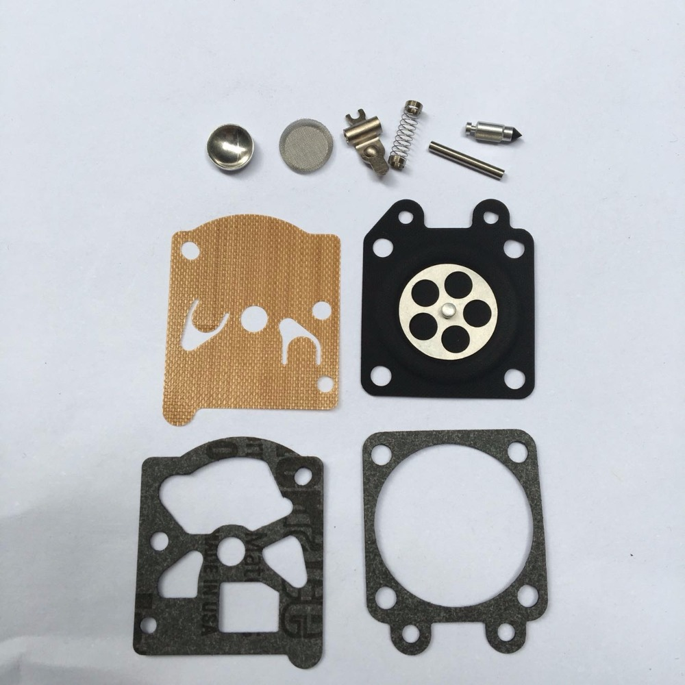 351 CARB REPAIR KIT 10PCS PACK FITS POULAN PARTNER 350 370  CHAINSAW  CARBURETOR DIAPHRAGM REBUILD OVERHAULT  REPL. WALBRO 33-29 high quality carburetor carb carby for husqvarna partner 350 351 370 371 420 chainsaw poulan spare parts walbro 33 29