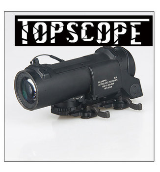Tactical 1x - 4x Dual Role Optic Rifle Scope Airsoft Scope Magnificate Scope Fit 20mm Weaver Picatinny Rail For Hunting