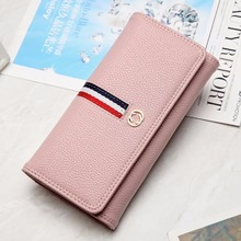 PU Leather Women Wallet female Long Patchwork Standard zipper coin bag Fashion Girls Hasp Purse Money Coin Card Holders wallets 2017 new fashion wallet female women purse long zipper solid candy color metal christmas deer wallets pu card holders design
