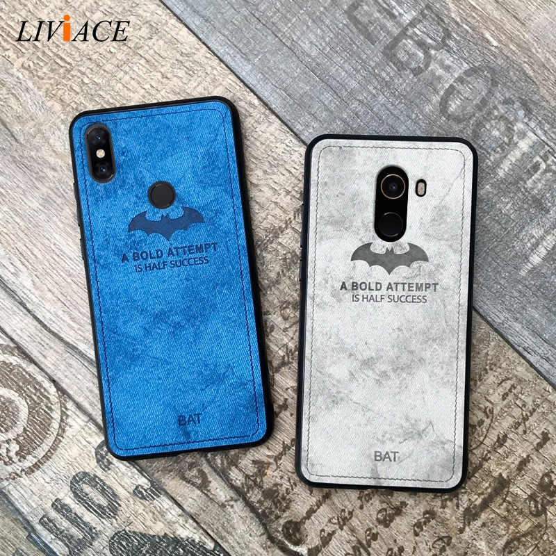 deer cloth texture phone case on for <font><b>xiaomi</b></font> <font><b>mi</b></font> <font><b>mix</b></font> 3 5G <font><b>mix</b></font> <font><b>2s</b></font> retro tpu hard back cover coque <font><b>fundas</b></font> image