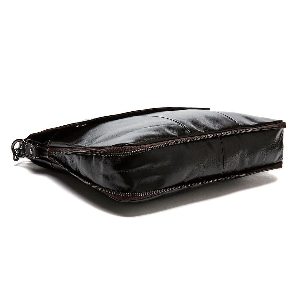 Westal جلد طبيعي الكتف الأعمال رسول النساء الرجال حقيبة حقيبة للمستند مكتب يد الذكور الإناث Portafolio-في حقائب جلدية من حقائب وأمتعة على  مجموعة 2