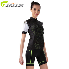 Women Cycling Clothing/Breathable Cycling Clothes/Summer Quick-Dry Women Bike Sports Jerseys Roupa Ciclismo Bicycle Sportwear