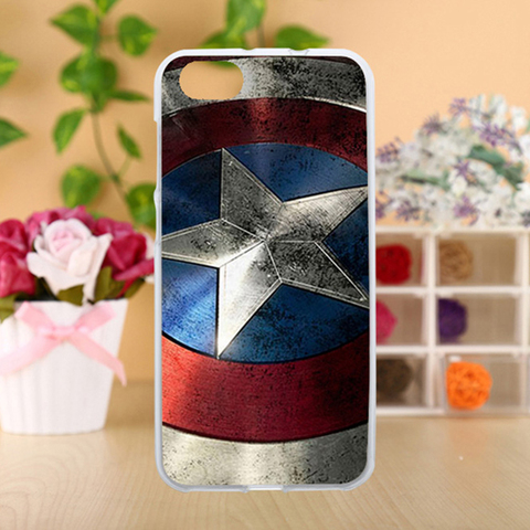 Anunob Case For ZTE Blade A6 Lite Cases Silicone TPU Covers Painted Flags Captain American Patterns Housings 5.2 inch Islamabad