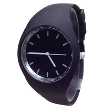 Important Wristwatch Bangle Bracelet Watches Silicone Sports activities Out of doors Unisex Sweet-Coloration Quartz Girls relogio 17Tue27