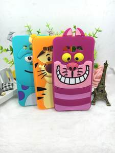 3D Cute Cartoon Sulley Tiger Cat Silicone Soft Back Cover For Samsung Galaxy Grand