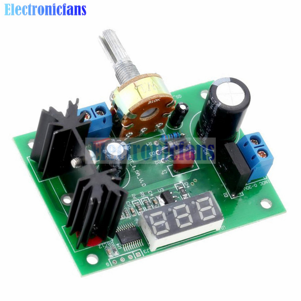 Lm317t Variable Voltage Regulator