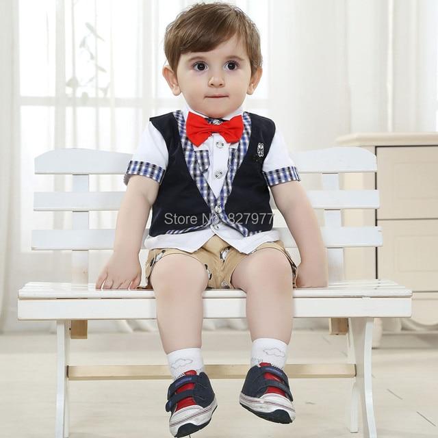 8e60abc33a68 Free Shipping fashion design baby boy summer cotton 100% clothes ...