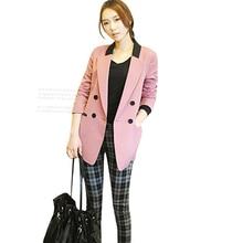 Nice Nice Arrival Blazer Women's Fashion Suit Slim Medium-Long Plus Size Elegant Blazer Jacket Women Full Sleeve Outerwear JT99