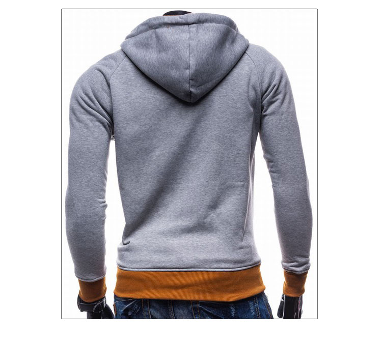 17 Hoodies Men Sudaderas Hombre Hip Hop Mens Brand Leisure Zipper Jacket Hoodie Sweatshirt Slim Fit Men Hoody XXL 10