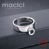 Best Gift Customized Personalized Promise Rings Free Engraved For Lover Family Friends 925 Sterling Silver Jewelry