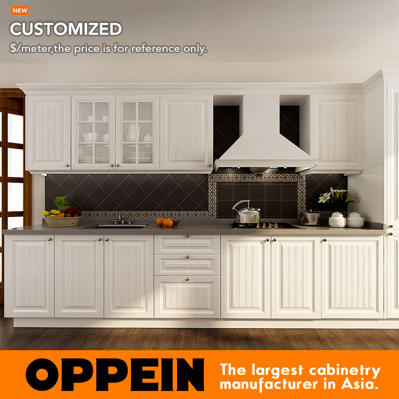 7 days delivery retail french pvc cheap kitchen cabinet furniture op14k002